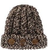 0711 Stone-Detail Knit Beanie