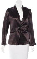 Ann Demeulemeester Fitted Peaked Lapel Blazer w/ Tags