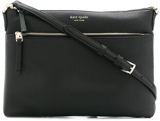 Kate Spade Polly logo print medium crossbody bag