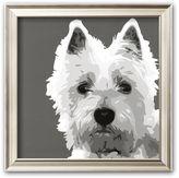 "Art.com West Highland Terrier"" Framed Art Print by Emily Burrowes"