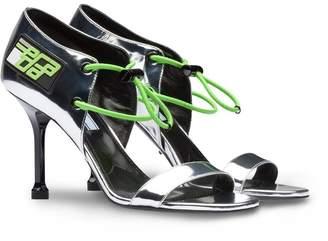 Prada elasticized cords sandals