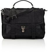 Women's PS1 Large Shoulder Bag-BLACK
