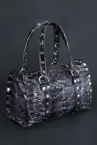 Hammitt.  Westwood python patent satchel