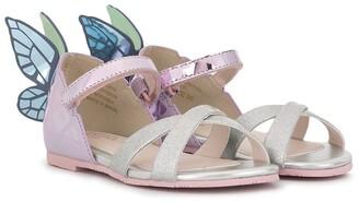 Sophia Webster Mini Chiara butterfly sandals