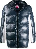 Colmar contrast zipped jacket
