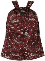 Etoile Isabel Marant 'Acan' crossover blouse - women - Cotton - 38