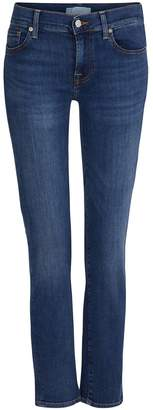 7 For All Mankind Roxanne cropped mid-rise jeans