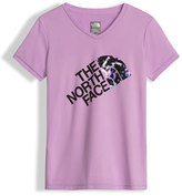 The North Face Reaxion Amp Logo Jersey Tee, Purple, Size XXS-L