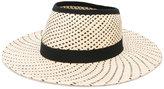 Henrik Vibskov Hole hat - women - Straw - 57