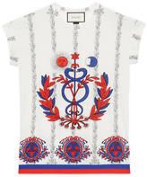 Gucci Carillon print cotton t-shirt