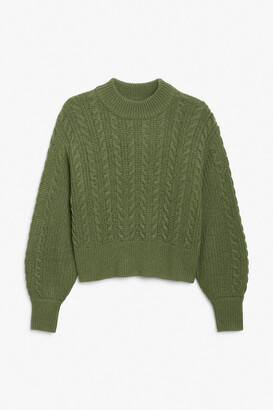 Monki Cable knit sweater