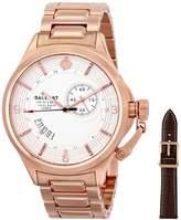 Trafalgar Ballast Men's BL-3126-33 Dress Analog Display Swiss Quartz Rose Gold Watch