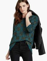 Lucky Brand Plaid Sweater