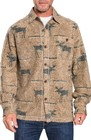mens true grit moose blanket shirt jacket