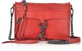 Rebecca Minkoff Blood Orange Leather Mini M.A.C. Crossbody Bag