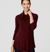 LOFT Maternity Cowl Tunic Sweater