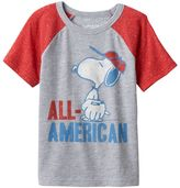 """Toddler Boy Jumping Beans® Peanuts Snoopy """"All-American"""" Graphic Tee"""