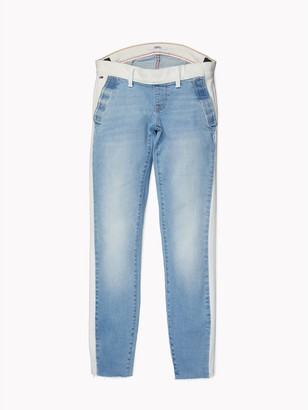 Tommy Hilfiger Seated Fit Two-Toned Skinny Jean