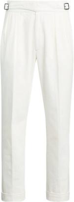 Ralph Lauren Buckled Twill Suit Trouser