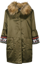 Bazar Deluxe embroidered sleeve parka