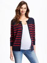 Old Navy Maternity Classic Crew-Neck Cardigan