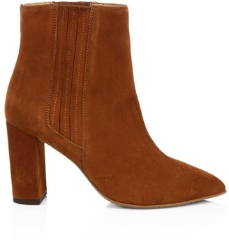 Aquatalia Sierra Suede Ankle Boots