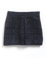 Benetton Tweens 7-16 Metallic Boucle Skirt