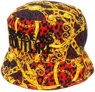Versace Mixed Print Bucket Hat