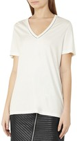 Reiss Ele Stitch-Detail Tee
