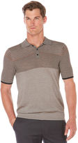 Perry Ellis Stripe Sweater Polo