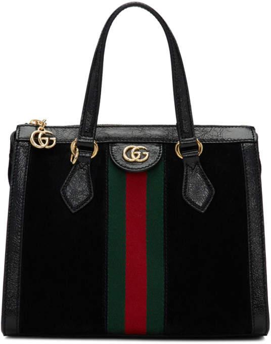 d7d930fcd Gucci Suede Bag - ShopStyle