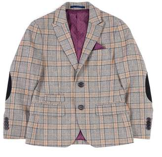 Isaac Mizrahi Multi Check Heritage Blazer (Big Boys)