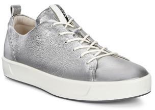 Ecco Soft 8 Ladies Alusilver Lyra Metallic