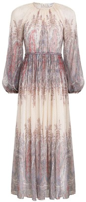 Zimmermann Lucky Braid Midi Dress