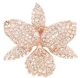 Nina Women's Orchid Crystal Pin