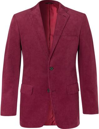 Freemans Sporting Club Slim-Fit Cotton-Corduroy Suit Jacket