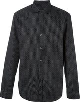 Z Zegna geometric print shirt
