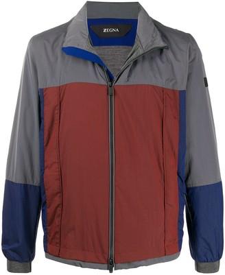 Ermenegildo Zegna Colour-Block Light Jacket