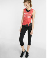 Express Workout Warrior Crew Neck Graphic Muscle Tank