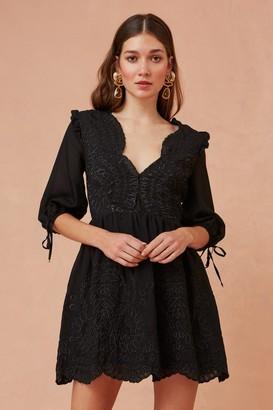 Keepsake WITHOUT ME MINI DRESS black