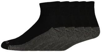 Dickies Genuine Men's Dri-Tech Comfort Quarter Work Socks, 5-Pack