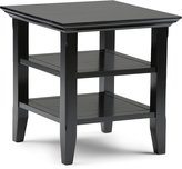 Simpli Home AXWELL3-003-BL Acadian End Side Table
