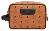 MCM 'Nomad - Visetos' Coated Canvas Cosmetics Case - Brown