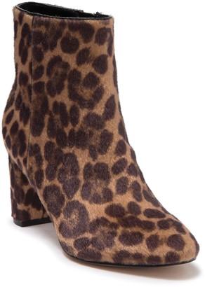 Nine West Trin Leopard Print Faux Fur Ankle Boot