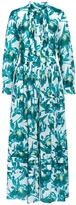 Temperley London Long Shelby Print Shirt Dress