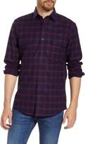Nordstrom Trucker Regular Fit Plaid Flannel Button-Up Shirt