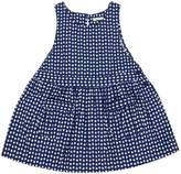Benetton Baby Girls Patch Pocket Sleeveless Dress