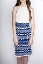 Dolce Vita Highneck Fitted Dress