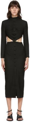 MATÉRIEL Black Side Cut-Out Dress