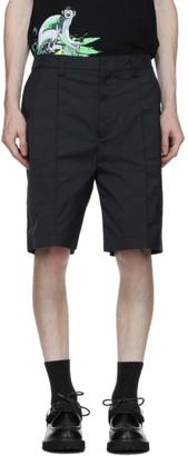 Valentino Black Solid Shorts